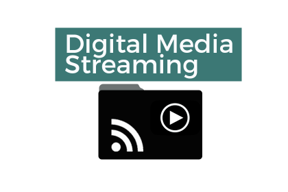 Digital Media Streaming logo
