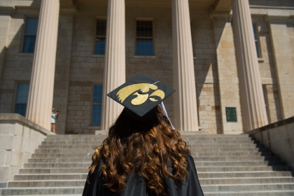 Graduation at the University of Iowa