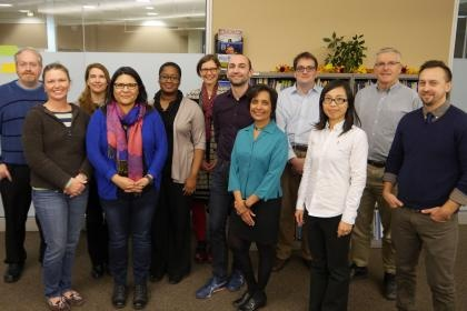 Members of the Early Career Faculty Academy with Academy Mentors.