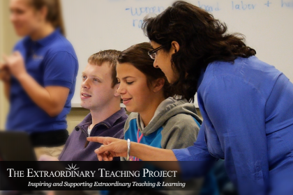 The Extraordinary Teaching Project banner